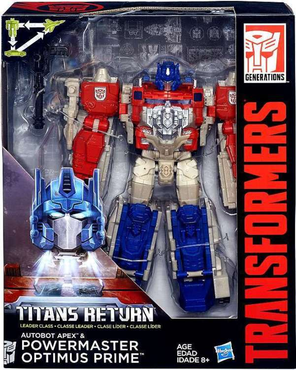 titans return powermaster optimus prime