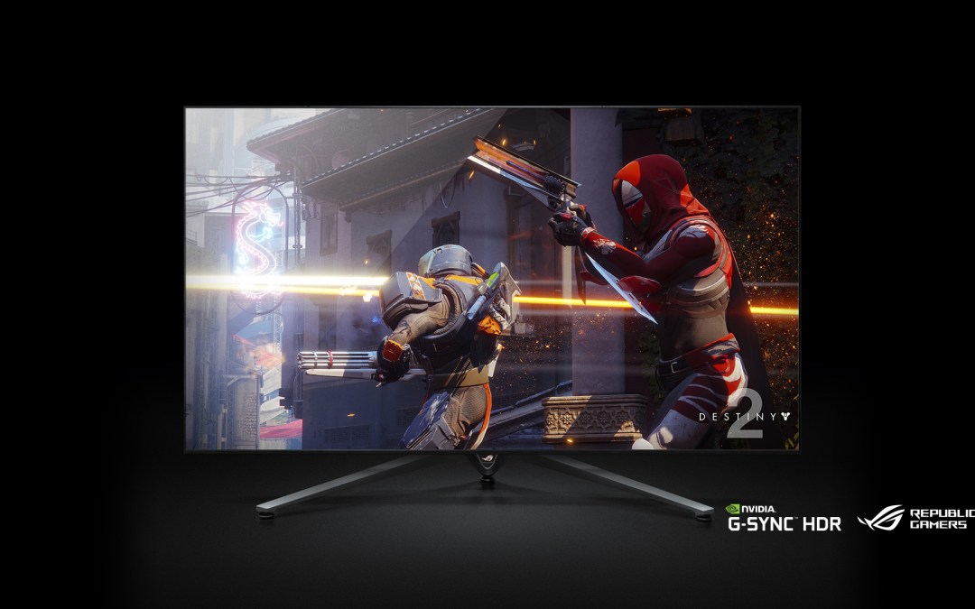 ASUS Announces ROG Swift PG65 Large Screen Monitor at CES 2018