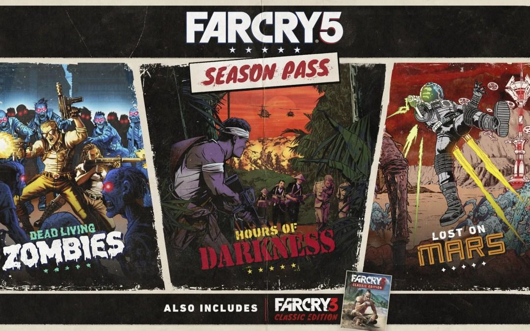 Ubisoft Reveals Far Cry 5 Season Pass Details