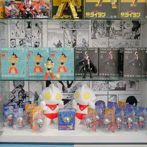 HQ Toy Shelf [Ultraman + Astro Boy + Black Jack]