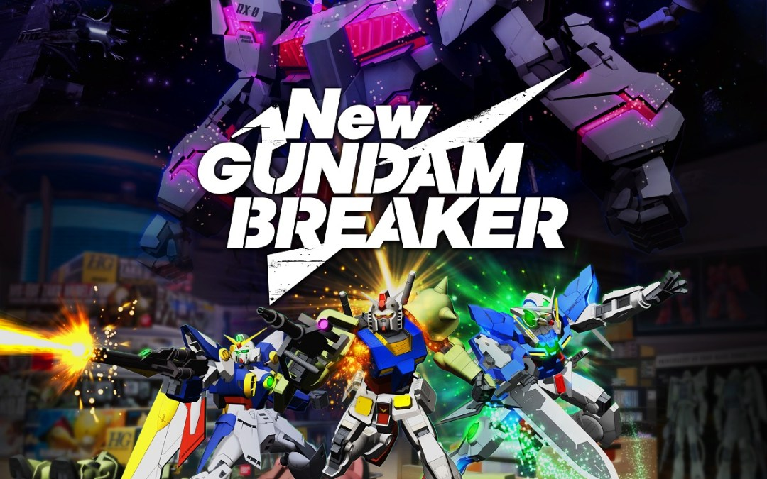 Build Your Own Gunpla And Join The Fight: New Gundam Breakeravailable Today