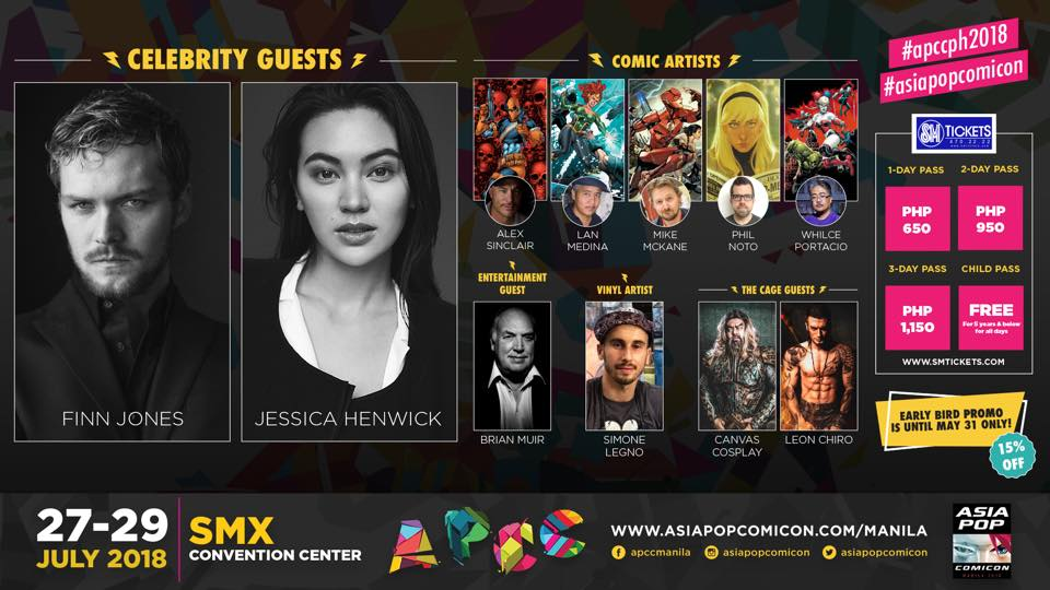 AsiaPOP Comicon 2018: The First Wave of Guests