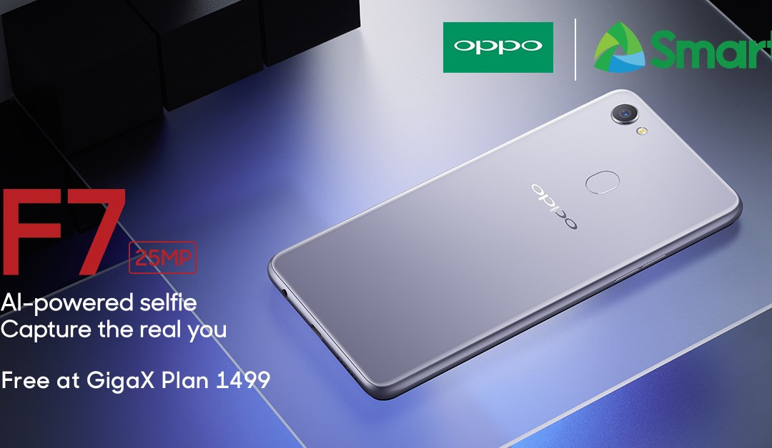 OPPO F7 now available with Smart GigaX Plan 1499