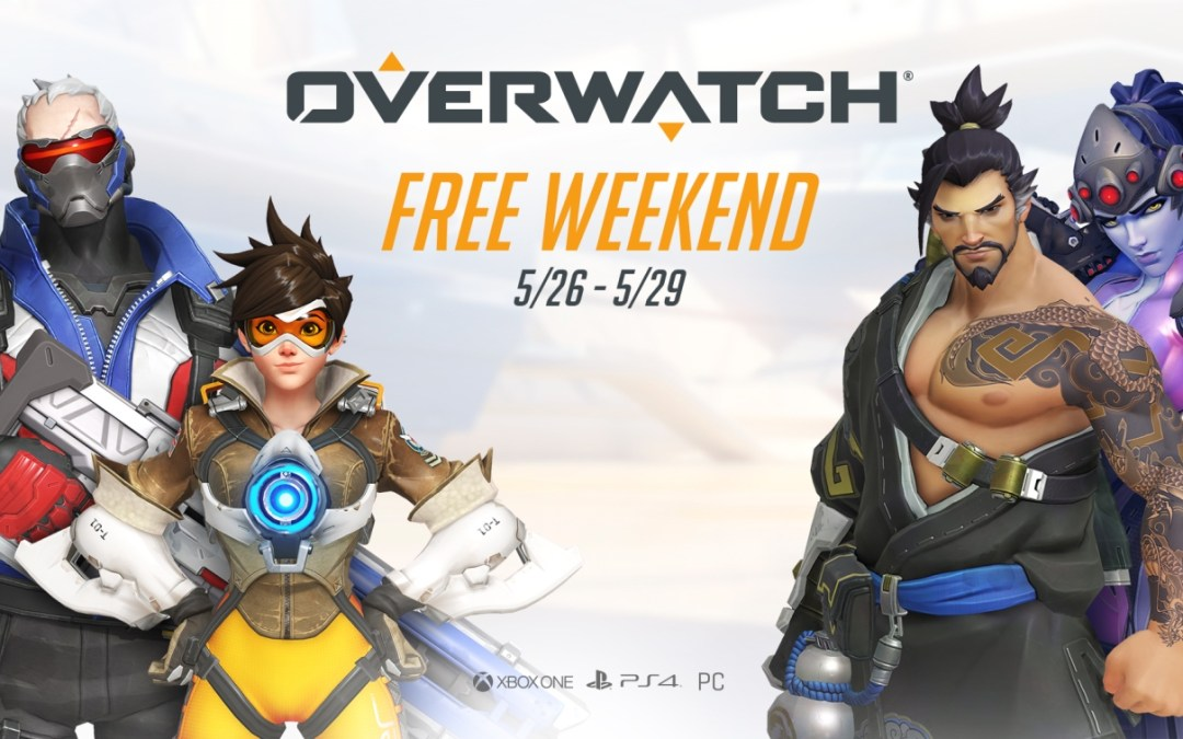 Check Out Overwatch's Infographics and Play for Free This Weekend