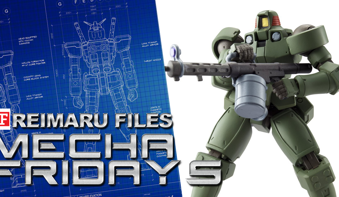 Mecha Fridays: May 2018's Gunpla lineup
