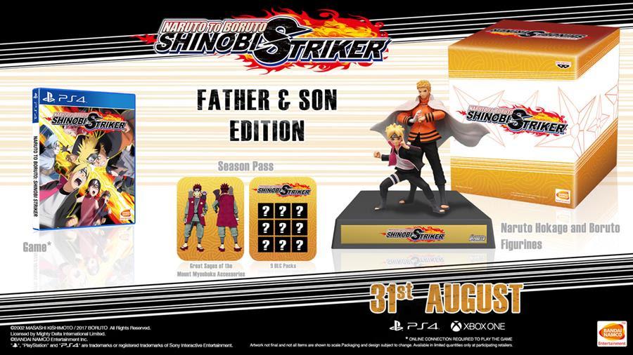 Naruto to Boruto: Shinobi Striker Releasing on August 31