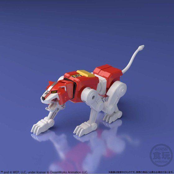 super minipla voltron red lion