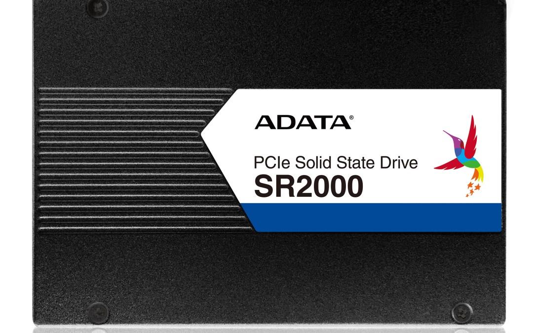ADATA Launches SR2000 Enterprise-Class SSD Series