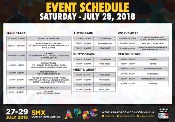 APCC Manila 2018 day 2 schedule