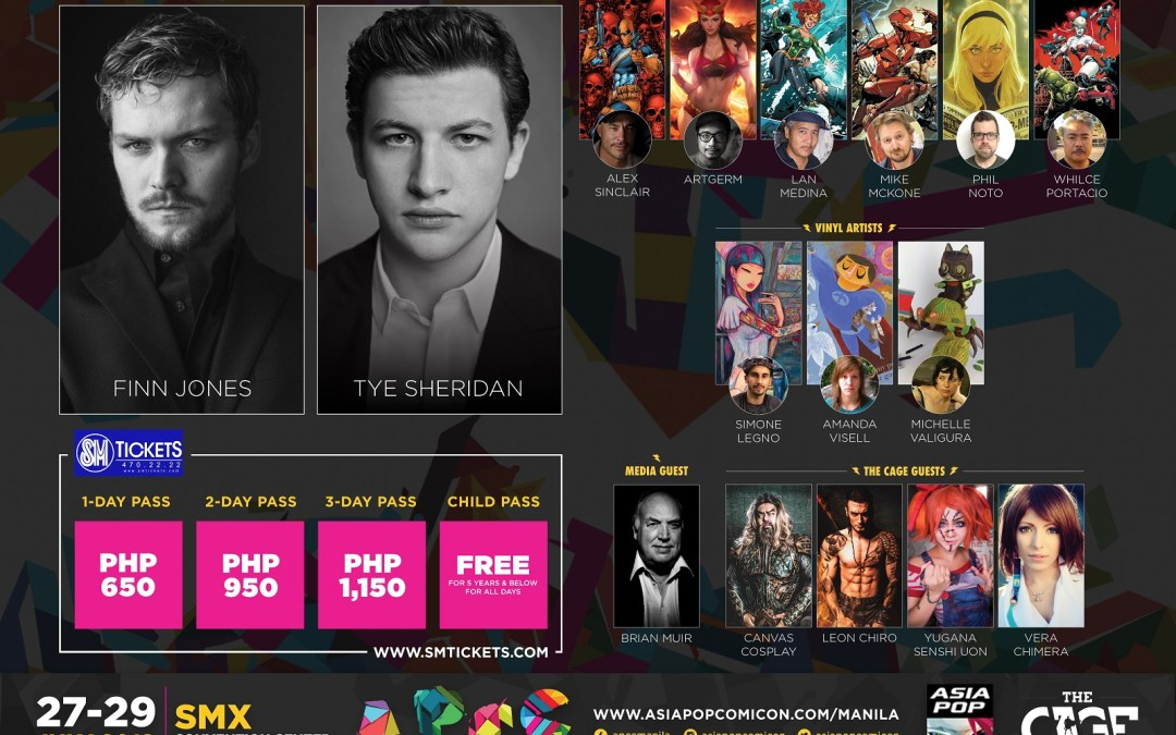 Ready Player One Lead Actor Tye Sheridan is Heading to AsiaPOP Comic Con Manila 2018