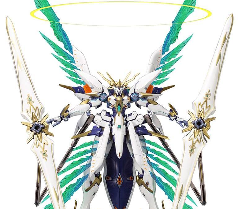 The Xenoblade Chronicles 2 Siren Model Kit is Just Darn Awesome
