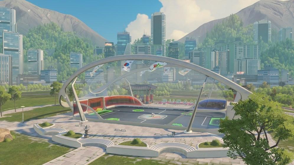 Brand new Lúcioball map - Busan Stadium