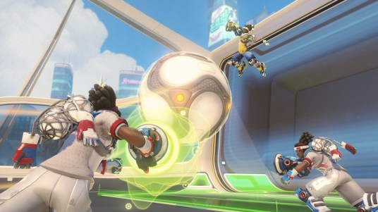 Return of the Summer Games exclusive Brawl, Lúcioball