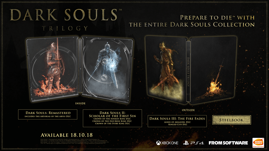 Dark Souls Trilogy Heading to Consoles This October