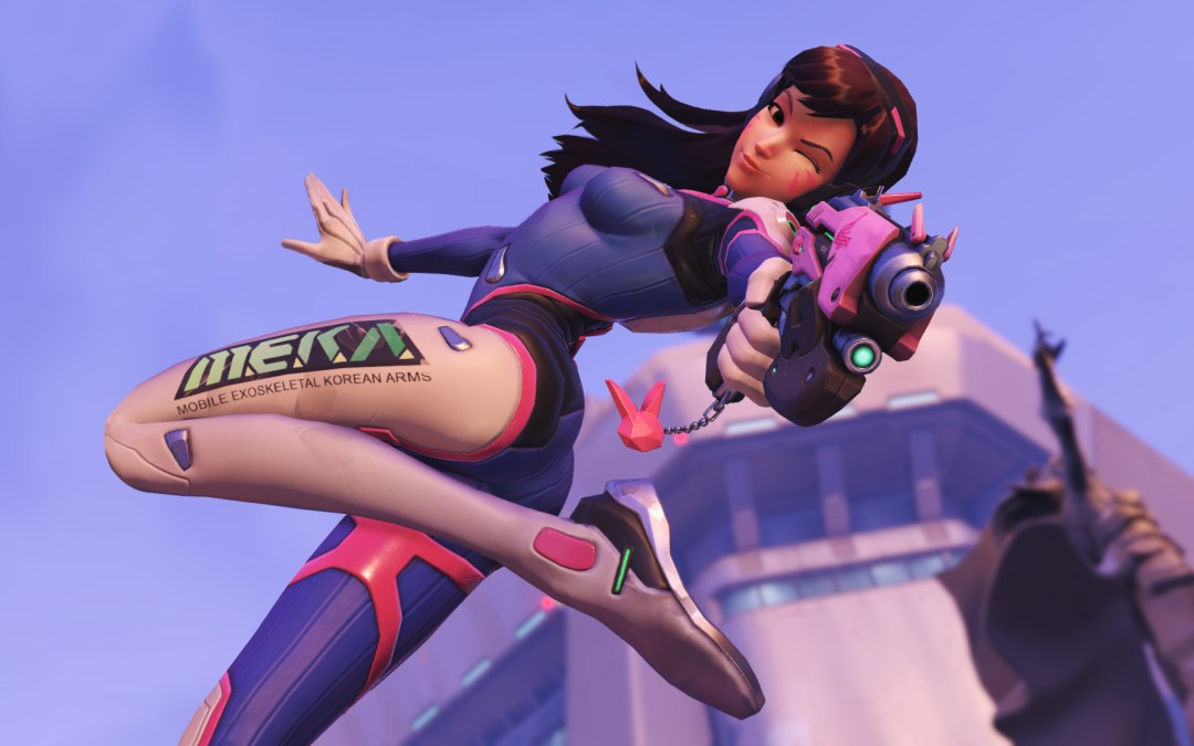 D.Va is the Star of the Show with These New Overwatch Updates