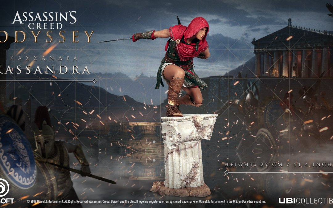 Assassin's Creed Odyssey Ubicollectibles figurines will be available this October