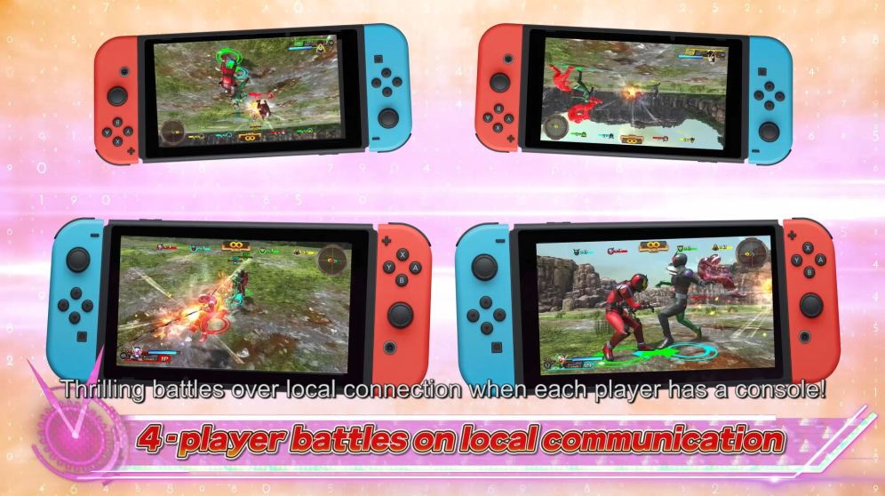 Play Mode_local 4 players