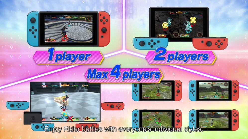 Play Mode_max 4 players