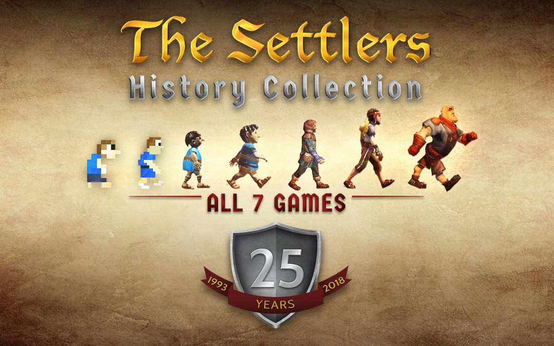 The Settlers History Collection is Now Available