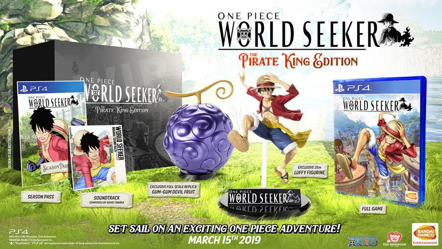One Piece World Seeker Releasing On 15th March 2019