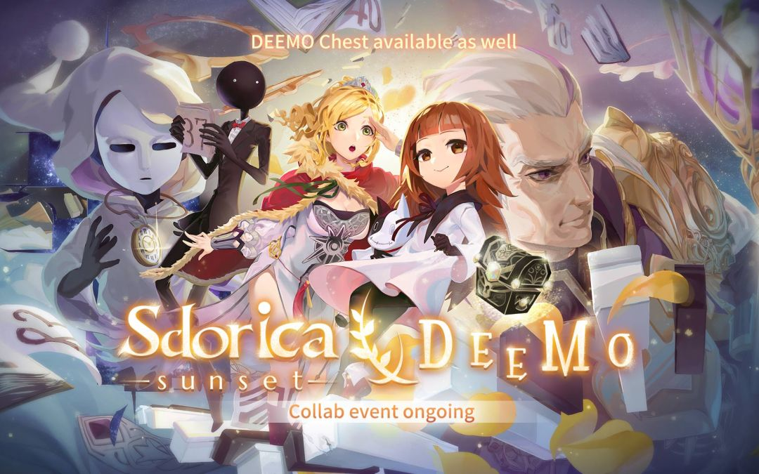 Sdorica -sunset-'s first collaboration with DEEMO
