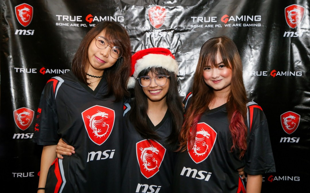 MSI Celebrates Christmas with the Dragon Army