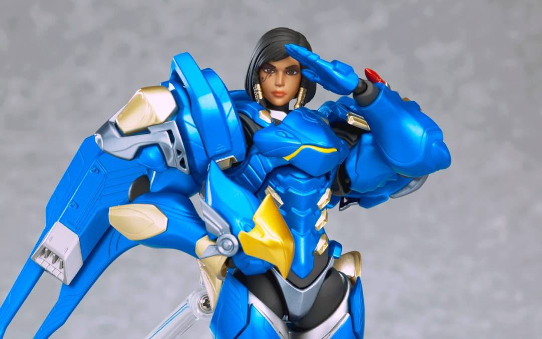 Justice Reigns Above with the Figma Pharah