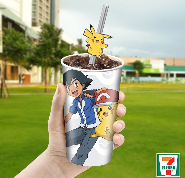 A wild Pokémon has appeared at your nearest 7-Eleven store