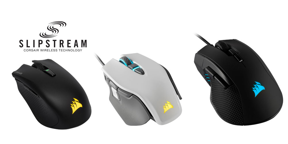 CORSAIR Launches Three New Gaming Mice for 2019