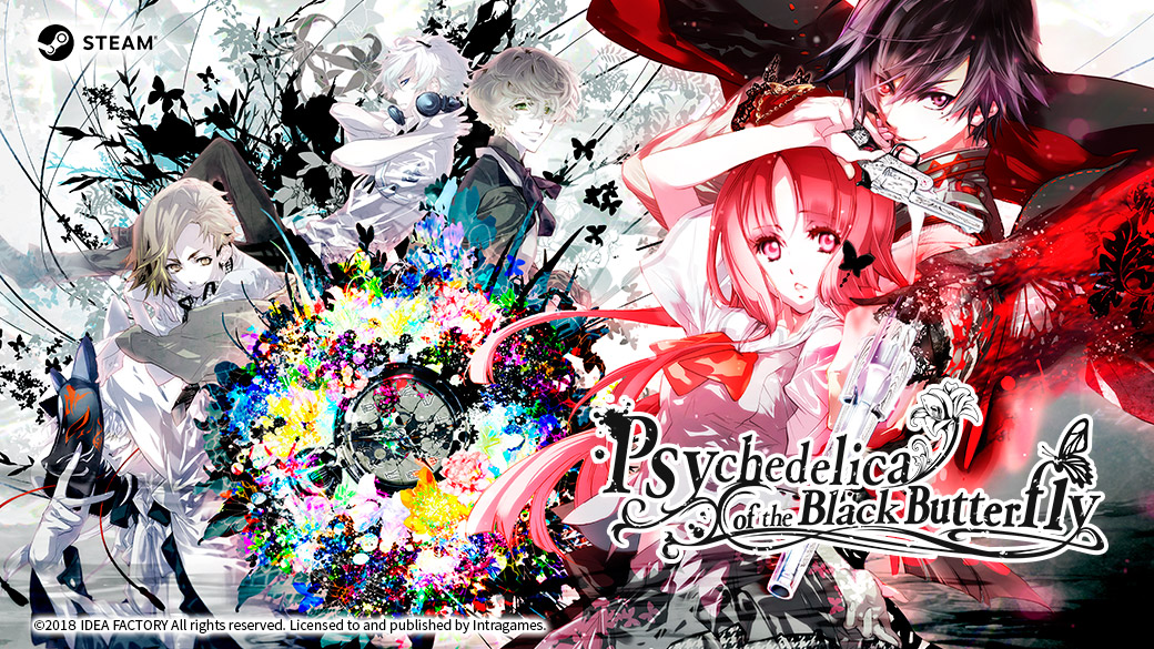 Psychedelica of the Black Butterfly Deluxe Bundle is now available on STEAM
