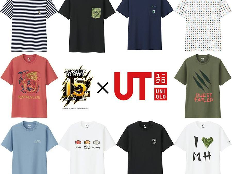 Uniqlo Launches more Gaming-themed Shirts with Capcom Collaboration