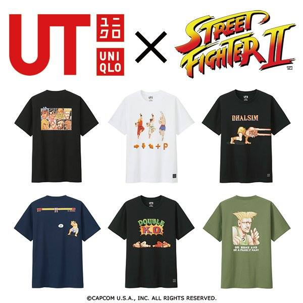 uniqlo street fighter banner