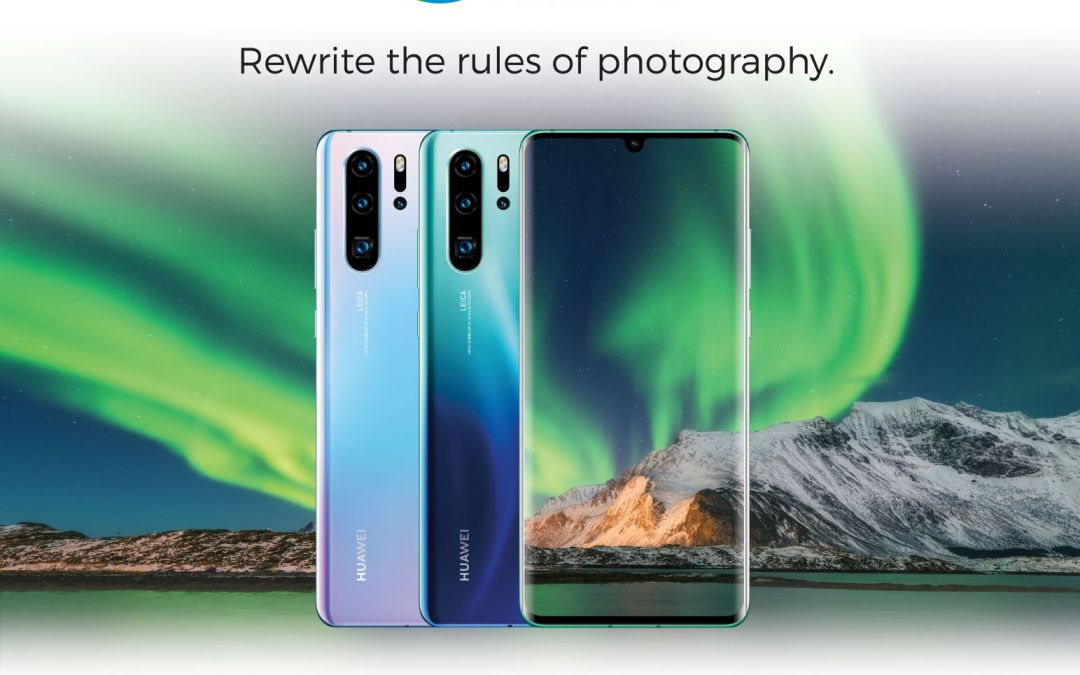 Take smartphone photography to the next level with Huawei P30 Series