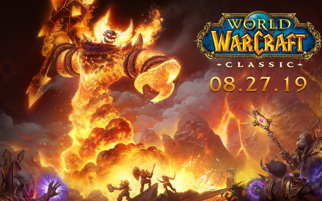 Celebrate 15 Years of WoW with the Release of World of Warcraft Classic on August 27