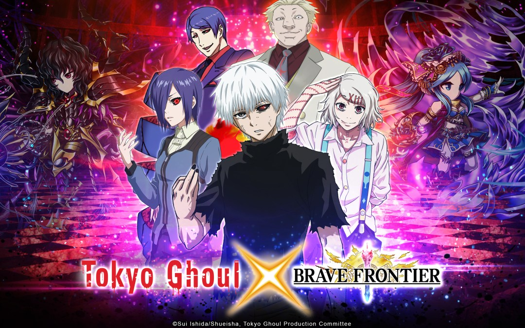 BRAVE FRONTIER x TOKYO GHOUL Collaboration Announced