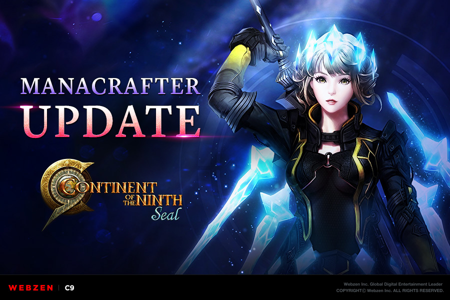 CONTINENT OF THE NINTH SEAL's Update Adds New Manacrafter Class