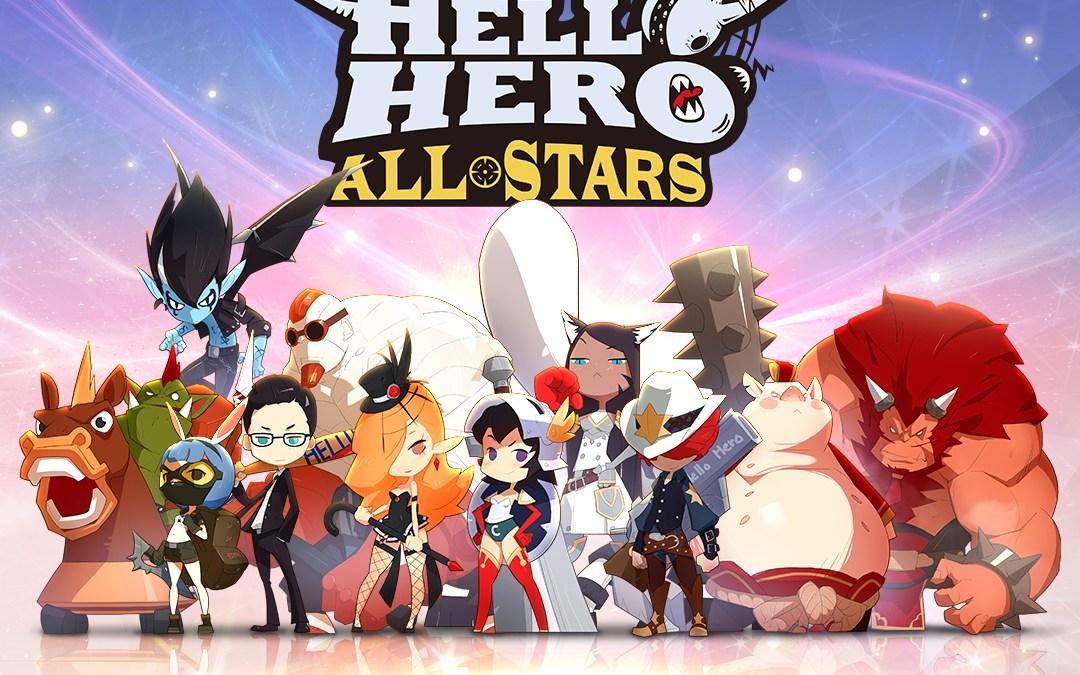 Enjoy an endless adventure with Hello Hero All Stars