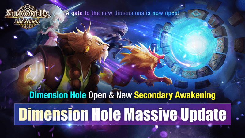 Com2uS Summoners War Dimension Hole Massive Update Released!