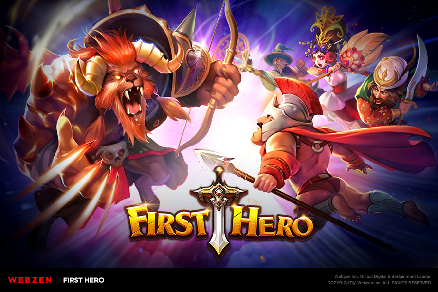 FIRST HERO is out now for iOS and Android in North America, Europe and Southern Asia