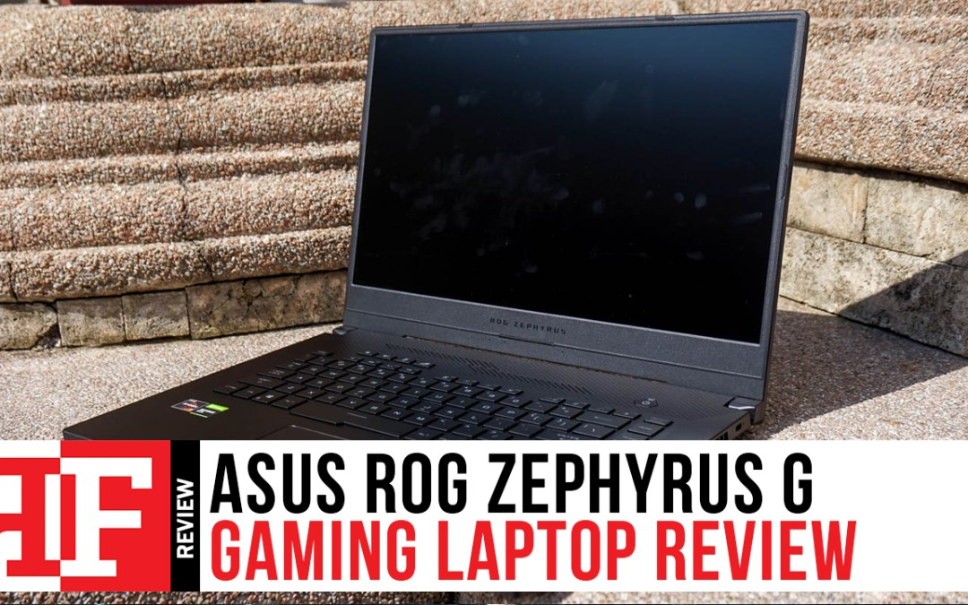 ASUS ROG Zephyrus G Review: Gorgeous and Portable AAA Gaming Beast