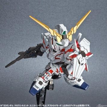 SDCS unicorn gundam destroy mode 2
