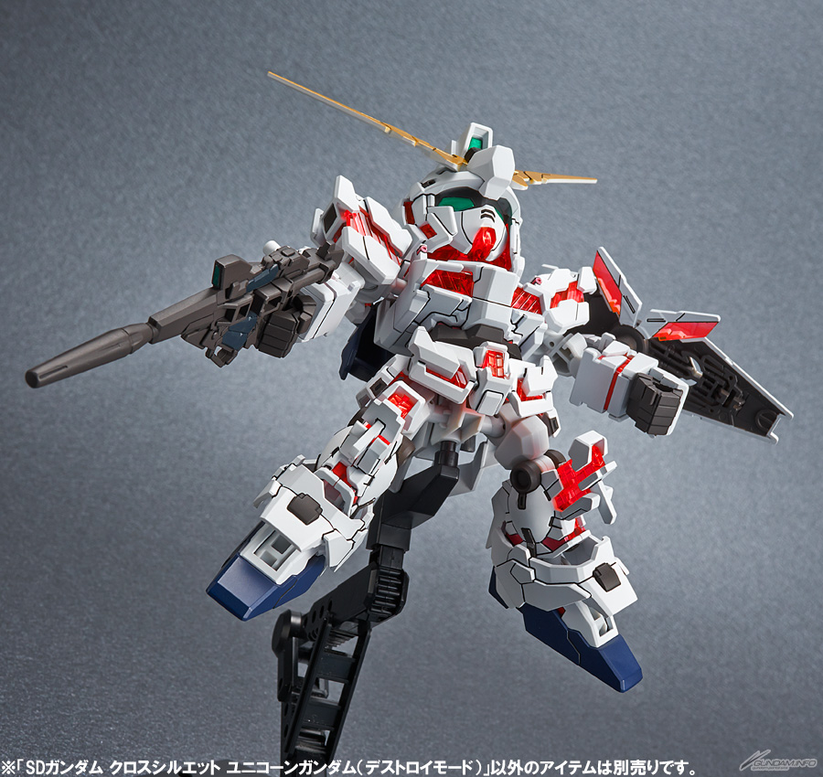 SDCS unicorn gundam destroy mode 4