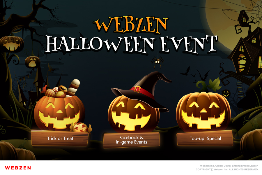 Webzen's 2019 Halloween Event is Now Live