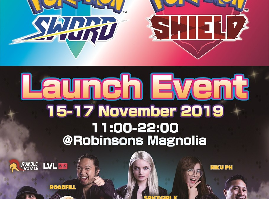 Event Alert: Pokemon Sword Shield Philippine Launch Event