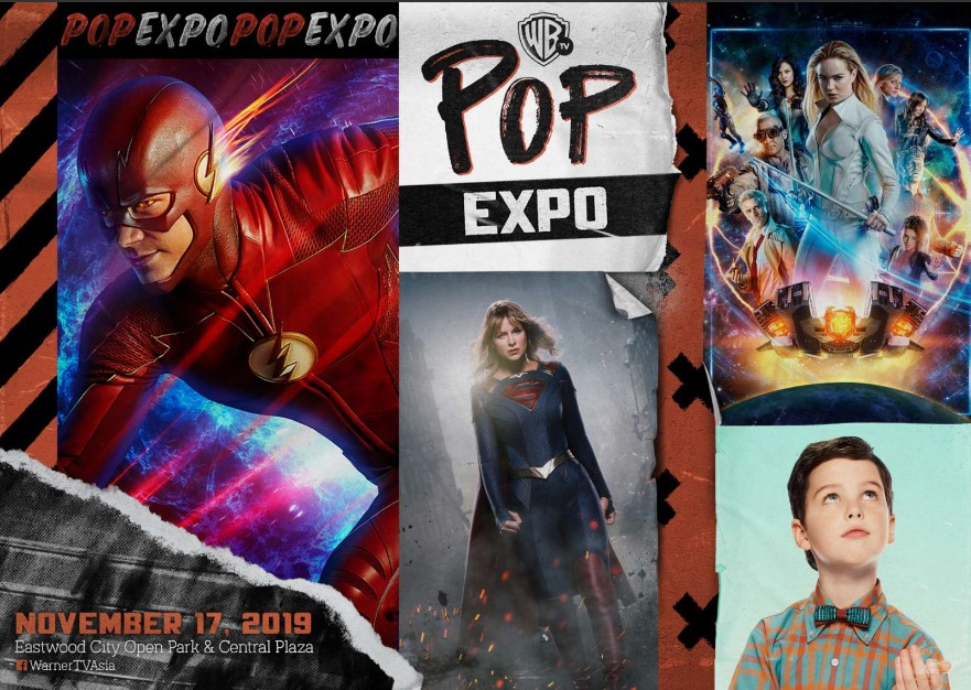 Calling All Superheroes! Warner TV Pop Expo Returns to Manila