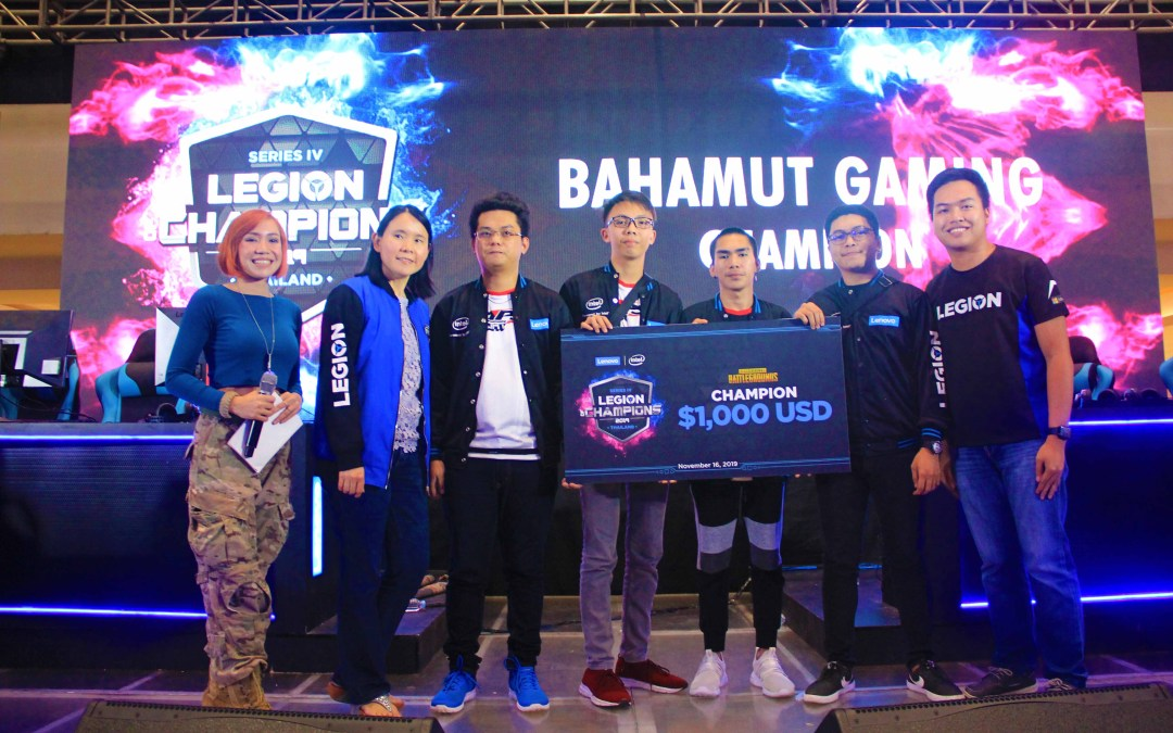 Bahamut Gaming to represent Philippines at Lenovo's Legion of Champions IV