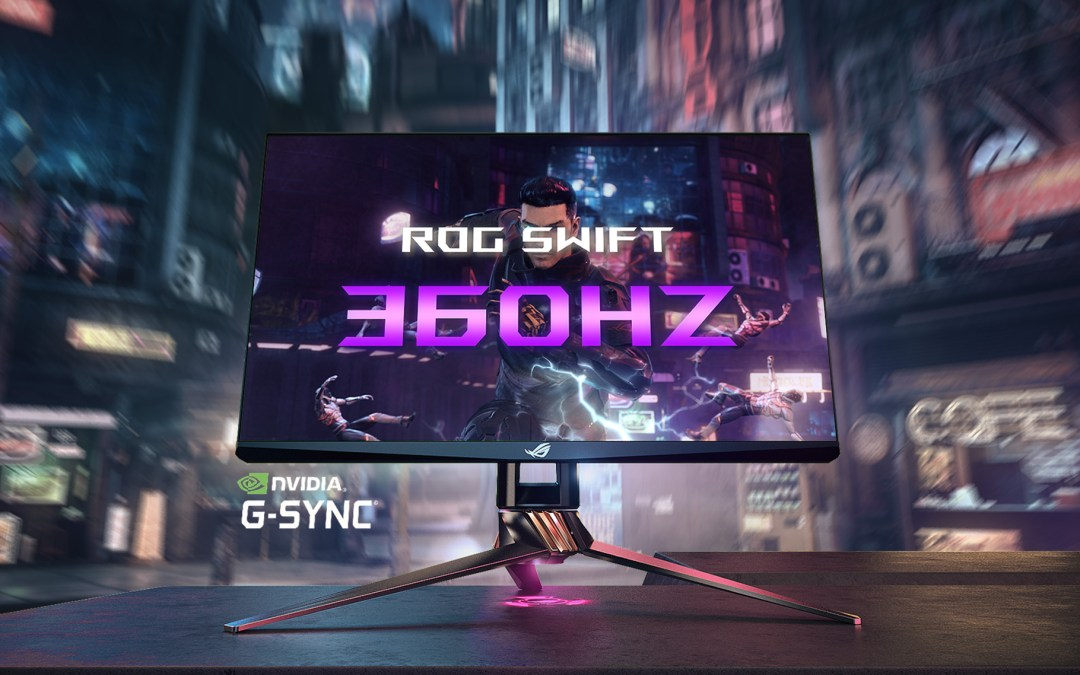 ASUS Republic of Gamers Announces the ROG Swift 360Hz
