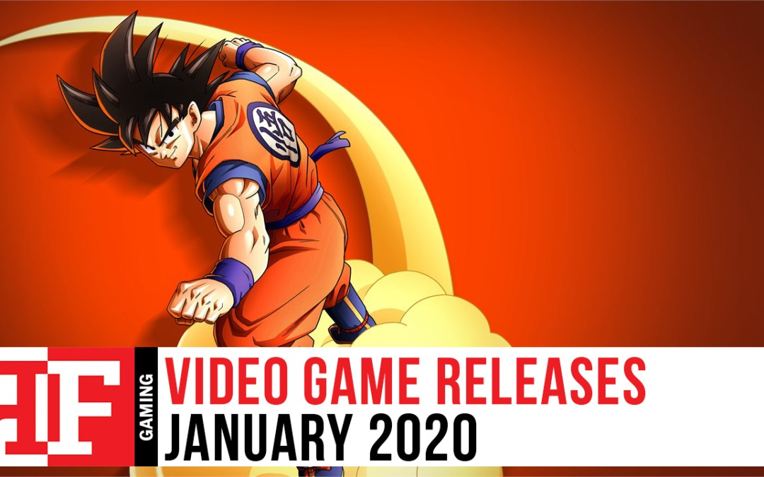 Video Game Releases: January 2020