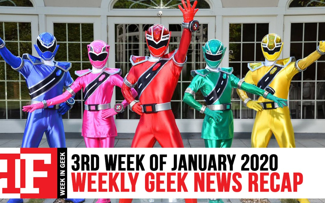 Week in Geek: Week 3 – January 2020