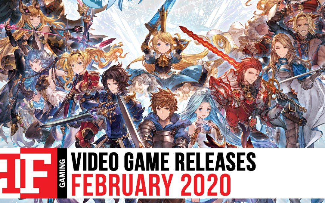 Video Game Releases: February 2020